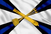 Флаг войсковой противовоздушной обороны (ПВО)
