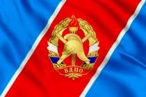 Флаг Всероссийское добровольное пожарное общество