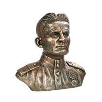 Скульптура «Бюст русского солдата»