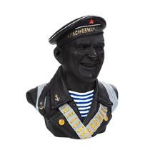 Скульптура «Бюст советского моряка №10»