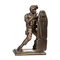 Скульптура «Боец спецназа со щитом (в полный рост)»