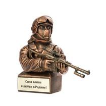 Скульптура «Боец спецназа с винторезом»