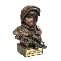 Скульптура «Боец спецназа с СВД большой»