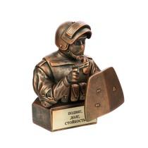 Скульптура «Боец спецназа со щитом»