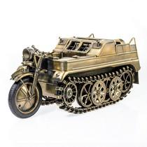 Мотоцикл гусеничный Sd.Kfz. 2, масштабная модель 1:9