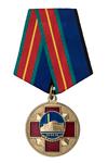 Медаль ОФИЧ г.Астана «ХХХ лет Чернобыльской аварии» с бланком удостоверения