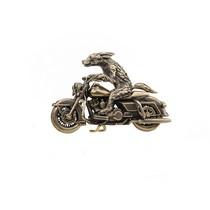 "Мотоцикл ""Harley Davidson Road King"" с псом, масштабная модель"