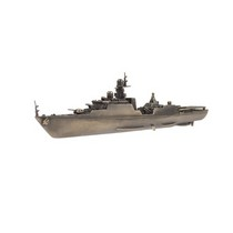 """Корабль """"Дагестан"""", масштабная модель 1:450"""