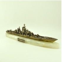 """Ракетный крейсер """"Пётр Великий"""", масштабная модель 1:700"""