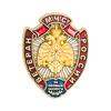 Нагрудный знак «Ветеран МЧС России» с бланком удостоверения