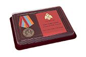 Наградной комплект к медали «25 лет МЧС России»