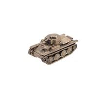 Немецкий лёгкий танк PZ.KPFW.II, масштабная модель 1:100