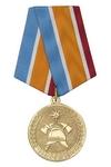 Медаль «30 лет 50 ПЧ г. Мелеуз РБ» с бланком удостоверения