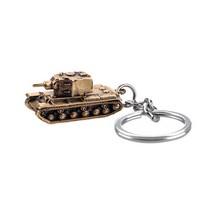 """Брелок """"Танк КВ-2"""", масштабная модель 1:180"""