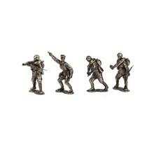 Набор солдатиков «Пехота Красной Армии» 4 шт., масштабная модель