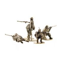 Набор солдатиков «Советские Снайперы» 5шт., масштабная модель 1:35