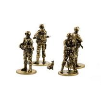 Набор солдатиков «Вежливая Армия» 4шт., масштабная модель 1:35