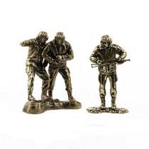 Набор солдатиков «Танкисты» 3шт., масштабная модель 1:35