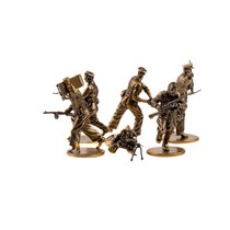 Набор солдатиков «Советская морская пехота 1941-1943 гг» 6шт., масштабная модель 1:35