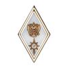 Знак отличия (ромб) «За окончание АГЗ МЧС России по программе магистратуры» (на пуссете)