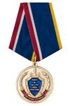 Медаль «Ветеран службы БХСС – ЭБ и ПК МВД России» с бланком удостоверения
