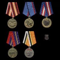 Комплект медалей РВСН ВС России