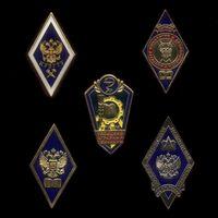 Комплект из 5 знаков «Об окончании учебных заведений»