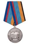 Медаль «102 военная база в Республике Армения» с бланком удостоверения