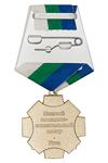Удостоверение к награде Нагрудный знак «За заслуги . Казачий ПСЦ г.Ухта» с бланком удостоверения