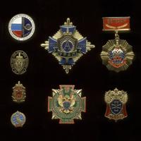 Комплект из 8 знаков «ФСБ России»