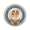Медаль настольная «25 лет управлению Госавтодорнадзора по Самарской области»