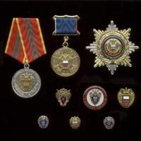 Комплект из 9 знаков «ФСО России»