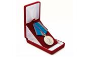 Футляр велюровый под знак/медаль (55*86), бордовый