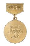 Медаль «Жене пограничника» с бланком удостоверения