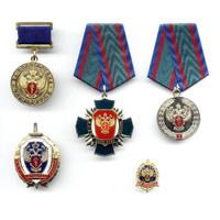 Комплект знаков «ФСКН России»
