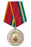 Медаль «10 лет 97-й ПСЧ г. Нижневартовск» с бланком удостоверения