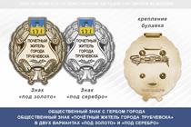 Общественный знак «Почётный житель города Трубчевска Брянской области»