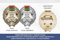 Общественный знак «Почётный житель города Шенкурска Архангельской области»