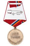 Медаль «Участнику ликвидации пожаров в 2010 году» с бланком удостоверения