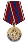 Медаль «За службу в милиции СНГ» с бланком удостоверения