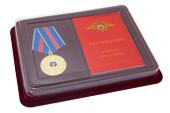 Наградной комплект к знаку на колодке «30 лет УБОП-РУБОП» с бланком удостоверения