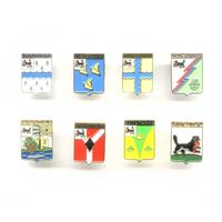 Комплект знаков «Гербы городов Иркутской области»