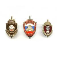 Комплект знаков «Ветеран ГАИ МВД РФ»