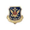 Знак на лацкан «140 лет УИС»