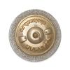Удостоверение к награде Фрачный знак «65 лет подразделениям особого риска (ПОР)» на винтовой закрутке
