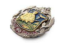 Удостоверение к награде Знак «90 лет ВДВ» на винтовой закрутке