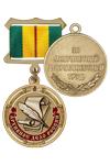 Медаль «300 лет архивному делу России» с бланком удостоверения
