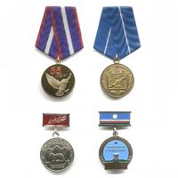 Комплект медалей «Республики Саха (Я)»