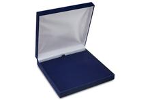 Футляр флокированный квадратный (15*15), темно-синий