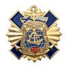 Знак двухуровневый «320 лет штурманской службе ВМФ России»